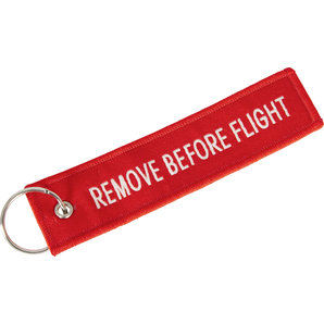 KULCSTARTÓ REMOVE BEFORE FLIGHT